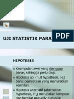 UJI STATISTIK PARAMETRIK