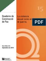 Violencia Sexual Guerra