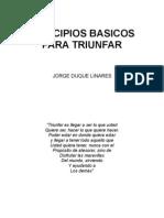 Principios Basicos Para Triunfar-Jorge Duque Linares