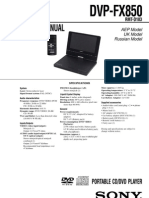 Sony+DVP FX850 DVD+Portable