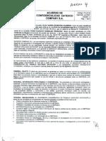 Acuerdo de confidencialidad César González