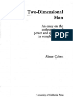 BOOK_0PREFACE_Two-Dimensional Man - Power and Symbolism in Complex Society (Cohen)