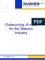 Outsourcing Must for Telecom Industry