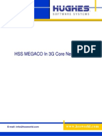 Hss Megaco in 3g Core Network