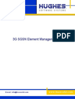 3G SGSN Element Management 0 1