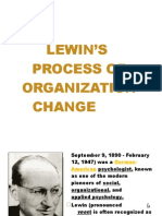 Lewin's Process of Organization Change 2 - Copy