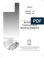 Business Valuation - ICWAI