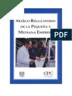 Marco Regulatorio de Las PYMES