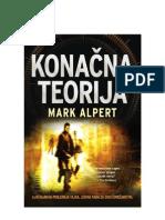 Mark Alpert - Konacna Teorija