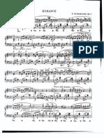 Tschaikowsky - Romance Op. 5