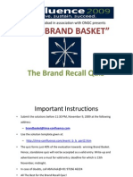 Brand Recall Quiz