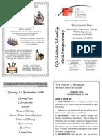 Bulletin 091309