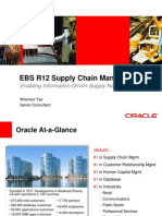 EBS R12 Supply Chain Oracle]