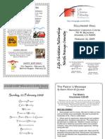 Bulletin 022209