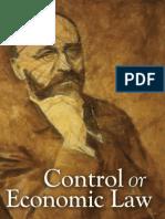Control or Economic Law - Eugen von Böhm-Bawerk