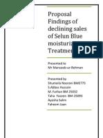 MBR Selsun Blue Proposal Sansel Blue