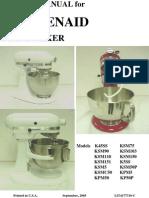 Ksm5 Service Manual