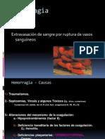 Alteraciones Hidricas y Hemodinamicas Hemorragia