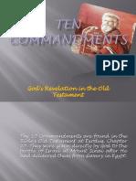 Ten Commandments Presentation