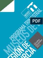 Programación Museos Región de Murcia Octubre-Diciembre 2011