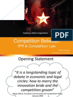 Competition Between IPR and Competition Law