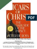 Peter de Rosa - Vicars of Christ (1988)