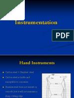 Lecture 2,  Instrumentation (Slides)