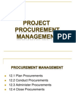 Project Procurement and Risk