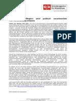 Hartz IV - Empfängern wird politisch verantwortete PKV-Verschuldung erlassen