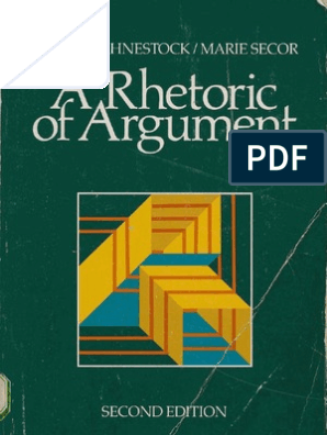 A Rhetoric of Argument | Causality | Argument