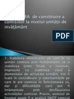 Procedura Comisii Power Point Presentation