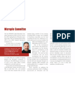 DFI Micropile Committee - Chairman's Report - Spring 2011
