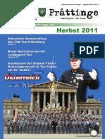 Tuxer Prattinge - Ausgabe Herbst 2011