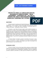 Proyecto Para La Consolidacion Del Desarrollo Habitacional