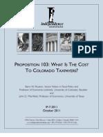Prop 103 paper