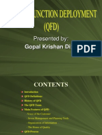 Ppt Qfd by Gopal k. Dixit