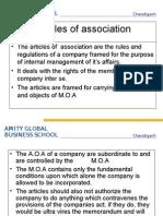 Articles of Association