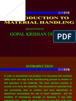 Material Handling by Gopal K. Dixit