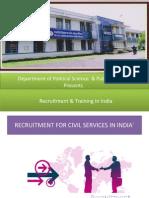 Recruitment & Training in India