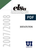 Estatutos Da ELSA UInternacional Da Figueira Da Foz