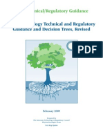 Phytotechnology Technical  and Regulatory Guidance  and Decision Trees, Revised