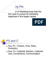 Copy of Marketing Mix