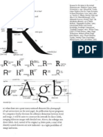 Edward Tufte Anatomie Des Buchstabens
