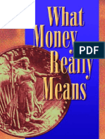 What Money Really Means