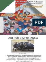 Import an CIA de La Seguridad Nacional