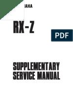 manual de yamaha rxz 135