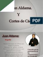 historia Aldama y cortes de cadiz
