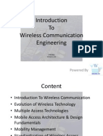 Introduction to Wireless Technology