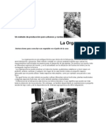 Un método de Producción Para Urbanos y Rurales