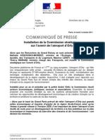 1 3 Octobre 2011 - CP Commission Avenir Orly NKM-ML-TM